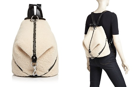Rebecca Minkoff Julian Medium Shearling Backpack - Bloomingdale's_2
