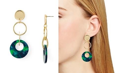 AQUA Multi-Loop Drop Earrings - 100% Exclusive - Bloomingdale's_2