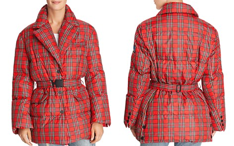 SJYP Plaid Puffer Coat - Bloomingdale's_2