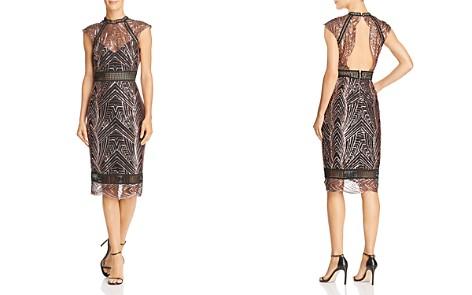 Saylor Open-Back Sequined Dress - Bloomingdale's_2