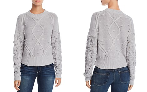AQUA Popcorn-Knit Sweater - 100% Exclusive - Bloomingdale's_2