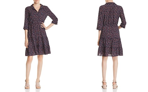 Gerard Darel Printed Tiered-Hem Dress - 100% Exclusive - Bloomingdale's_2