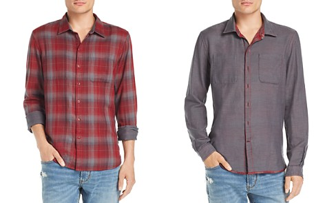 John Varvatos Star USA Double-Faced Regular Fit Reversible Shirt - 100% Exclusive - Bloomingdale's_2