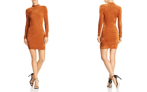 Ronny Kobo Verde Knit Mini Dress - Bloomingdale's_2