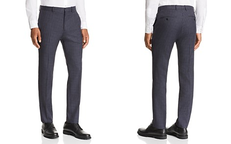 Theory Mayer Sartorial-Check Slim Fit Suit Pants - Bloomingdale's_2