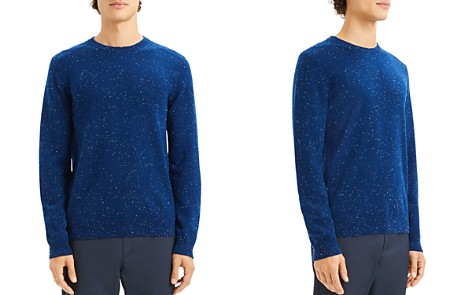 Theory Valles Tweed Crewneck Cashmere Sweater - Bloomingdale's_2
