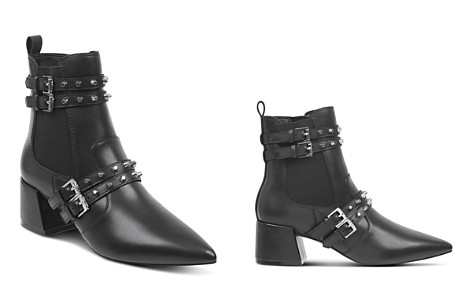 KENDALL and KYLIE Women's Rad Pointed Toe Leather Booties - Bloomingdale's_2