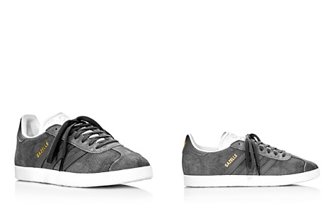 Adidas Women's Gazelle Embossed Suede Lace Up Sneakers - Bloomingdale's_2