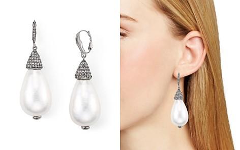 Oscar de la Renta Cultured Pearl Drop Earrings - Bloomingdale's_2