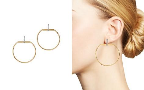 Roberto Coin 18K Yellow Gold Classica Parisienne Diamond Earrings - Bloomingdale's_2
