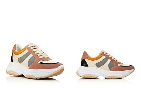 AQUA Women's Ike Lace Up Sneakers - 100% Exclusive - Bloomingdale's_2