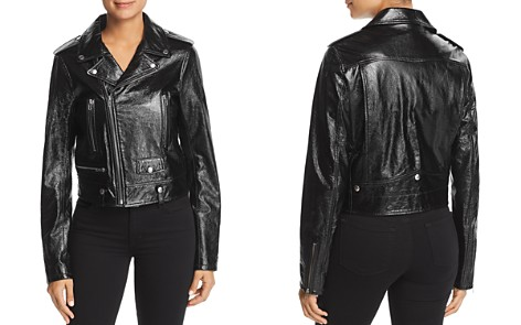 Elie Tahari Jacalyn Leather Moto Jacket - Bloomingdale's_2