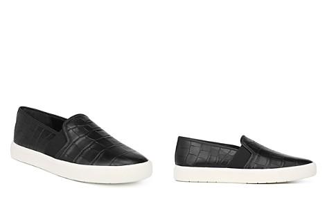 Vince Women's Blair Embossed Leather Slip-On Sneakers - Bloomingdale's_2
