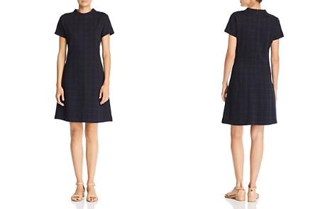Theory Windowpane Check Dress - Bloomingdale's_2