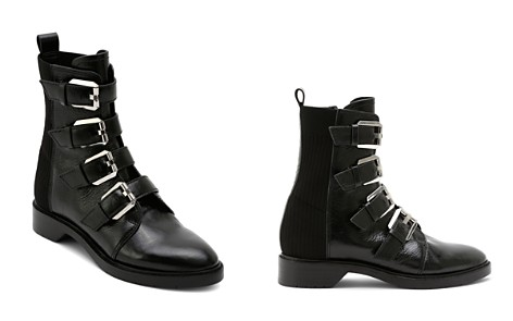 Dolce Vita Women's Gaven Buckled Leather Combat Booties - Bloomingdale's_2