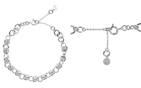 Links of London Sterling Silver Sweetie Extra Small Charm Chain Bracelet - Bloomingdale's_2