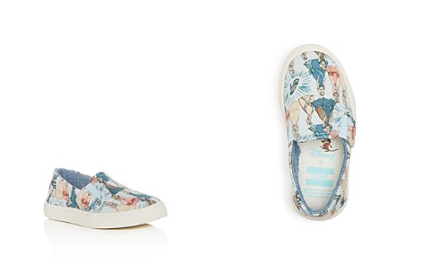 TOMS x Disney Girls' Luca Princess Print Slip-On Sneakers - Baby, Walker, Toddler - Bloomingdale's_2