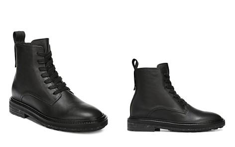 Via Spiga Women's Kinley Weather-Resistant Leather Combat Boots - Bloomingdale's_2