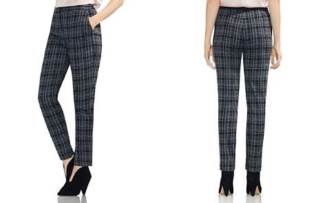 VINCE CAMUTO Plaid Slim-Leg Pants - Bloomingdale's_2