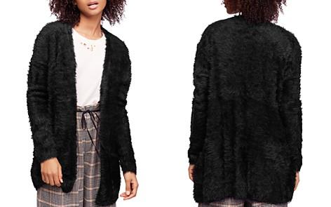 Free People Faux Fur Cardigan - Bloomingdale's_2