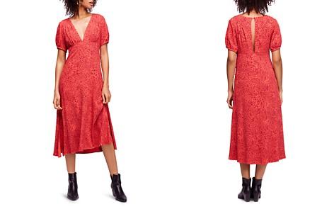 Free People Looking For Love Printed Midi Dress - Bloomingdale's_2
