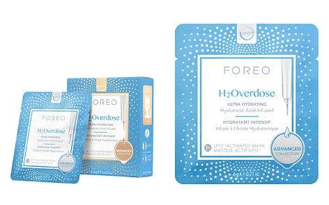 FOREO H2Overdose Ultra Hydrating UFO Activated Masks, Set of 6 - Bloomingdale's_2