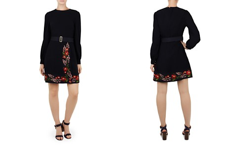 Ted Baker Siliia Kirstenboch Embroidered Dress - Bloomingdale's_2
