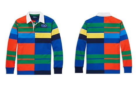 Polo Ralph Lauren Boys' Polo Hi Tech Rugby Shirt - Big Kid - Bloomingdale's_2
