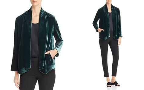 Eileen Fisher Velvet Open Jacket - Bloomingdale's_2