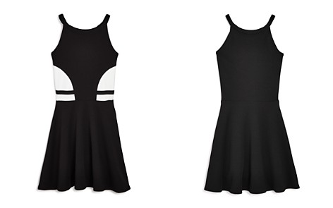 AQUA Girls' Color-Block Dress, Big Kid - 100% Exclusive - Bloomingdale's_2