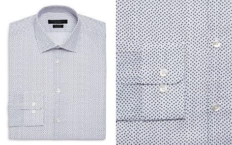 John Varvatos Star USA Scattered Print Regular Fit Dress Shirt - Bloomingdale's_2