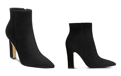 Marc Fisher LTD. Mayae Suede Pointed Toe High-Heel Booties - 100% Exclusive - Bloomingdale's_2