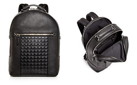 Salvatore Ferragamo Firenze Gamma Embossed Leather Backpack - Bloomingdale's_2