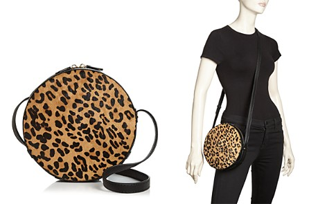 AQUA Medium Leopard-Print Calf Hair Crossbody - 100% Exclusive - Bloomingdale's_2