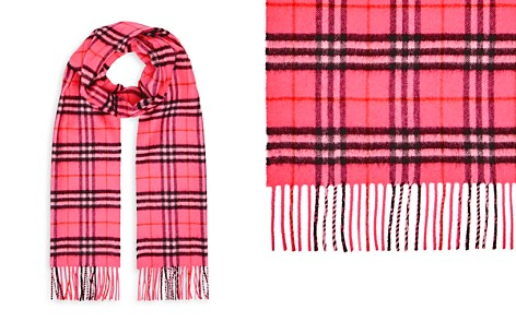 Burberry The Classic Vintage Check Cashmere Scarf - Bloomingdale's_2