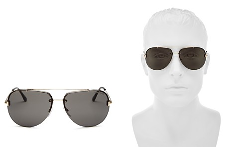 Tom Ford Men's Brad Brow Bar Aviator Sunglasses, 60mm - Bloomingdale's_2
