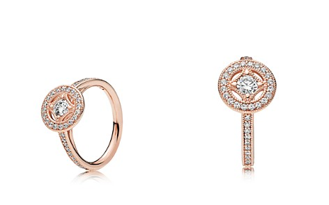 PANDORA Vintage Allure Rose Gold Tone-Plated Sterling Silver Ring - Bloomingdale's_2