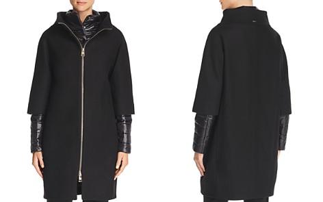 Herno Mixed Media Zip-Front Coat - Bloomingdale's_2
