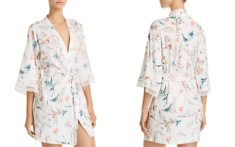 Flora Nikrooz Irene Floral Knit Cover-Up Robe - Bloomingdale's_2