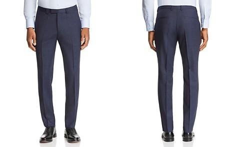 HUGO Hesten Micro-Check Slim Fit Suit Pants - Bloomingdale's_2