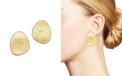 Marco Bicego 18K Yellow Gold Lunaria Large Stud Earrings - Bloomingdale's_2