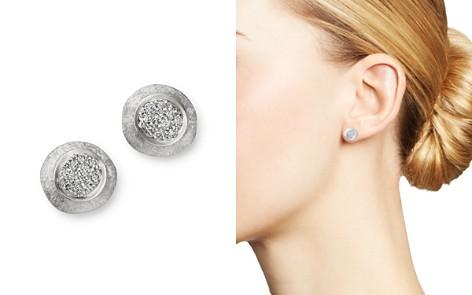 Marco Bicego 18K White Gold Delicati Jaipur Diamond Stud Earrings - Bloomingdale's_2