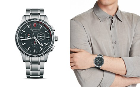 Victorinox Swiss Army Alliance Stainless Steel Sport Chronograph, 44mm - Bloomingdale's_2