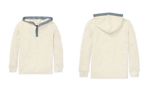 Polo Ralph Lauren Boys' Ribbed Shirt with Hood - Little Kid - Bloomingdale's_2