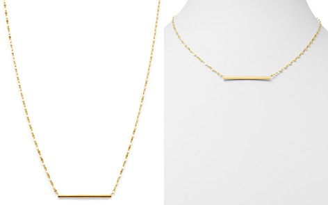 """Moon & Meadow 14K Yellow Gold Bar Necklace, 18"""" - 100% Exclusive - Bloomingdale's_2"""