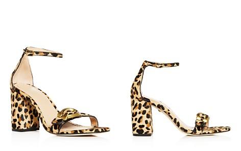 COACH Women's Maya Leopard Print Calf Hair Block-Heel Sandals - Bloomingdale's_2