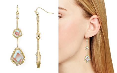 Kendra Scott Coro Faceted Double Drop Earrings - 100% Exclusive - Bloomingdale's_2