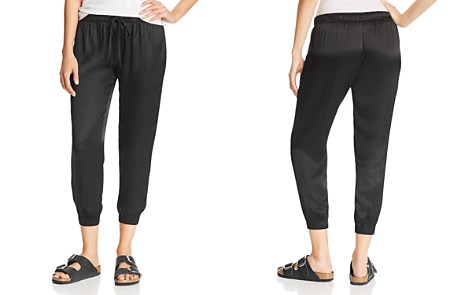 Enza Costa Cropped Jogger Pants - Bloomingdale's_2