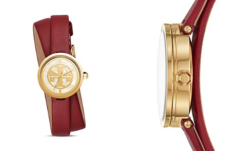 Tory Burch The Reva Red Wrap Strap Watch, 28mm - Bloomingdale's_2