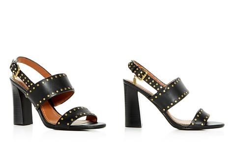 COACH Women's Rylie Leather High-Heel Sandals - Bloomingdale's_2